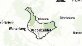 Mapa / Bad Salzschlirf