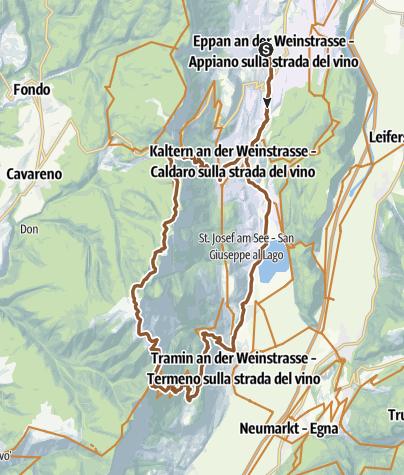 Karte / Mendel & Monte Roen