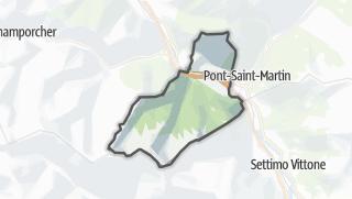 Karte / Donnas