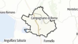 地图 / Campagnano di Roma
