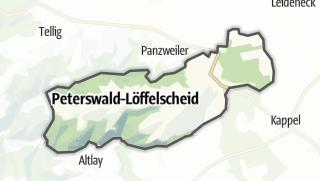 Karte / Peterswald-Löffelscheid