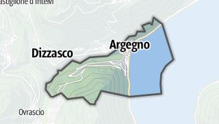 Hartă / Argegno