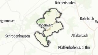 מפה / Hohenwart