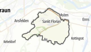 Mapa / Sankt Florian