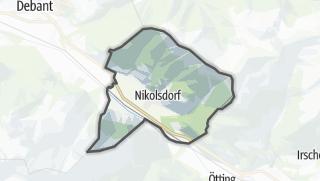 Mapa / Nikolsdorf