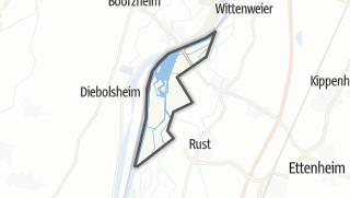 Karte / Gemeindefreier Grundbesitz