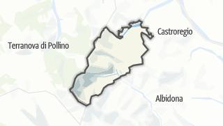 Térkép / Alessandria del Carretto