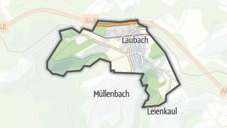 Karte / Laubach