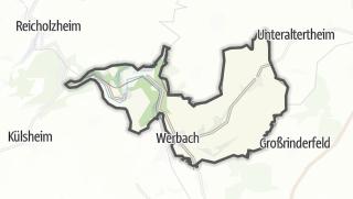 Cartina / Werbach