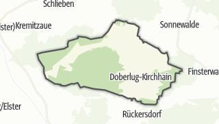 Hartă / Doberlug-Kirchhain
