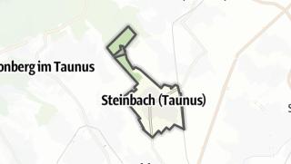 Mapa / Steinbach (Taunus)