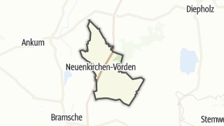 Carte / Neuenkirchen-Vörden