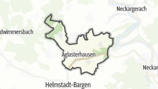 Cartina / Aglasterhausen
