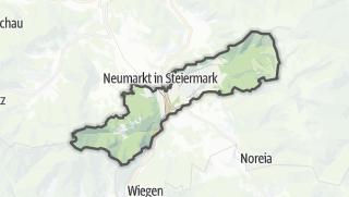 Mapa / Sankt Marein bei Neumarkt