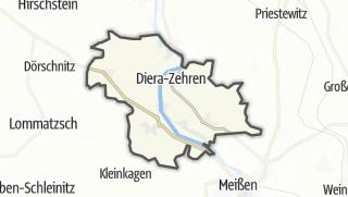 Cartina / Diera-Zehren