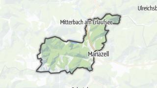 Mapa / Sankt Sebastian