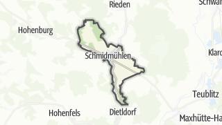 מפה / Schmidmuhlen