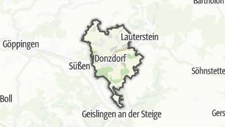 Karte / Donzdorf