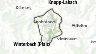 Karte / Biedershausen