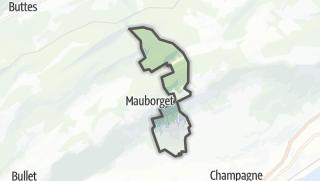 Карта / Villars-Burquin