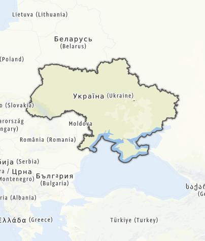 Map / Ukraine