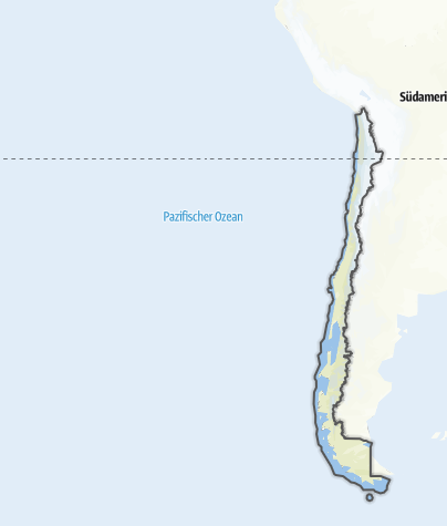 Karte / Chile