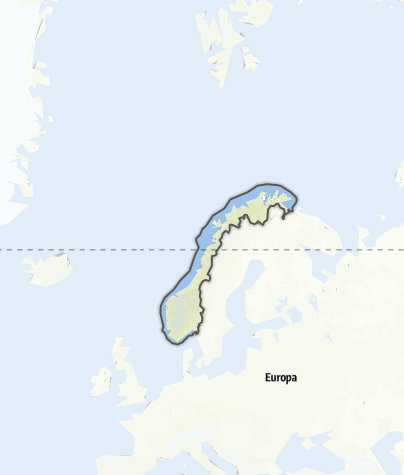Map / Norway
