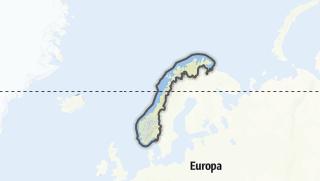 Map / Norway