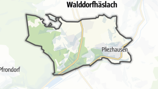 Map / Pliezhausen