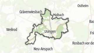 Mapa / Usingen