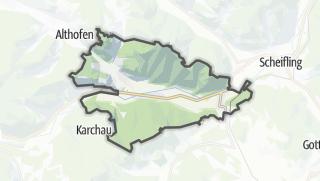 Karte / Frojach-Katsch