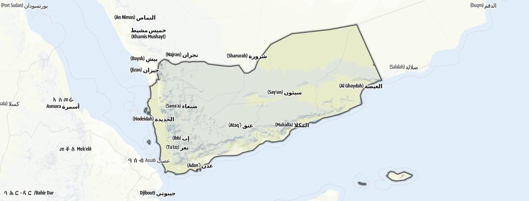Map / Yemen