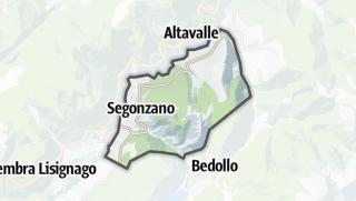 Karte / Segonzano