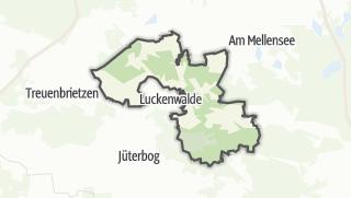Carte / Nuthe-Urstromtal