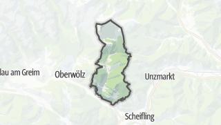 Mapa / Schoenberg-Lachtal