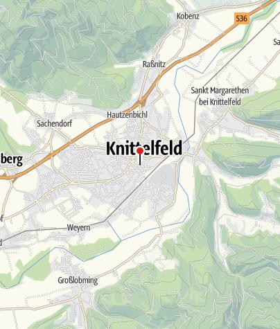 Karte / Pestsäule Knittelfeld