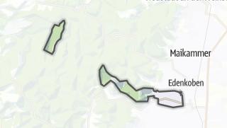 Mapa / Rhodt unter Rietburg