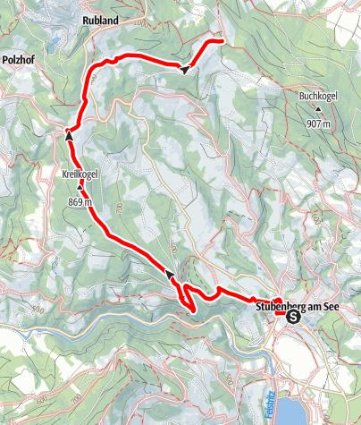 Karte / Kreilkogelweg