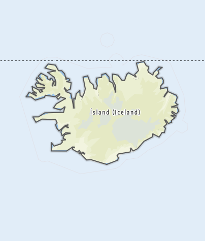 Map / Iceland
