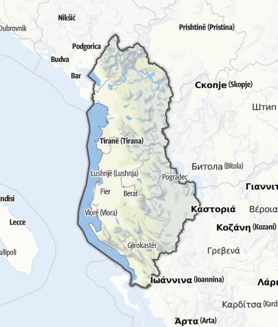 Karte / Albanien