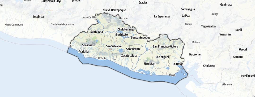 地图 / 萨尔瓦多