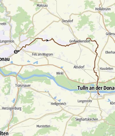 Karte / Hadersdorf / Kamp - Tulln