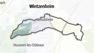 מפה / Wettolsheim