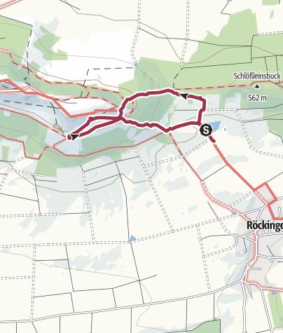 Karte / Bärlauchtraum am Hesselberg