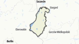 Карта / Gryfiński