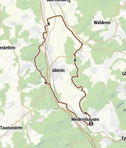 Karte / Schäfersbergteam 5.4.2014