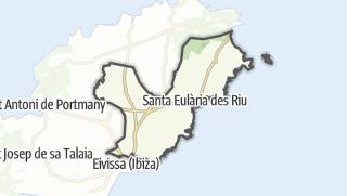 Map / Santa Eulària des Riu