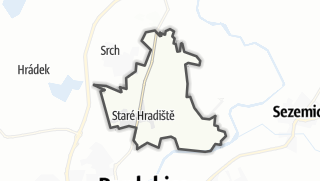 地图 / Staré Hradiště