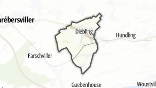 Mapa / Diebling