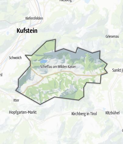 Karte / Wilder Kaiser